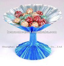 new 2014 alu foil flower gift packing