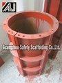 De aço de alta resistência rodada Concrete Form