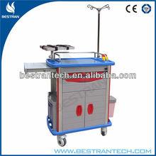 BT-EY002 ABS hospital emergency crash cart medication supplies medical trolley