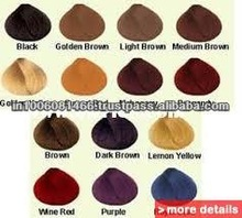 colors for natural hair