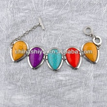 New style spring fashion luck colorful turq