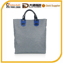 Female genuine leather handbag