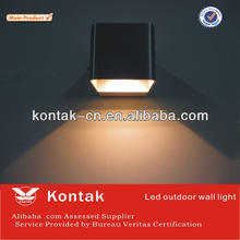 2014 New design led lights products dimmable square led wall light