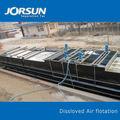 使用される溶存空気浮上idaf池でのろ過システム