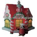 270cm alta natal infláveis decoração de loja