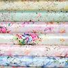 digital print silk fabric satin