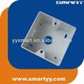 Faceplate back box 80*80mm caixa de montagem