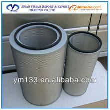 Peças de motor de caminhão truck air filter AF25276 AF25277