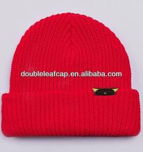 Fashion knit beanie children cap,100% cotton kufi crochet beanie skull cap knit hat