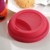 2014 hot selling custom silicone rubber coffee cup lid manufactue