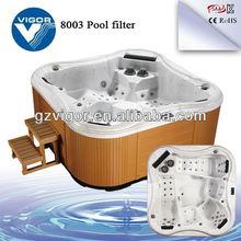 free sex usa massage hot tub (JY8003)/large outdoor spa pool