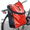 Durable waterproof resistant Bicycle Saddle Bag with Shoulder Strap Tarpaulin Bicycle Bag Pannier MANUFACTURER