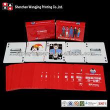 Encargo de papel tarjeta del puente de juego, Modificado para requisitos particulares de puente de papel tarjeta de juego