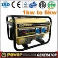 Reparación del generador de gasolina todo tipo diferentes piezas de repuesto opcional