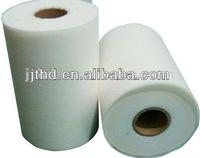 White Parallel lapping 22 mesh spunlace nonwoven fabric