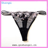 new design embridery sexy g-string panty girls underwear