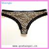 sexy hipster animal print g-string underwear women hot selling