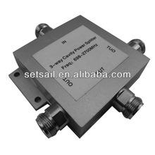 698-2700MHz rf wilkinson 3 way power splitter/combiners