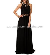 Oca out preto vestidos de festa custom vestido maxi
