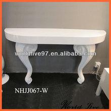 NHJJ067 White Modern Console Table