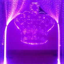 LED curtain light string light hotel christmas decorations