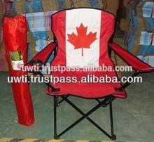 Canada Flag Outdoor Beach Folding Camping Chair /Picnic Chair