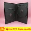china manufacturer dvd case 14mm/9mm/7mm black double