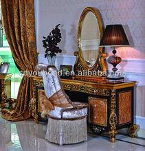 0061 Italian classical bedroom dresser furniture,antique dresser mirror bedroom furniture