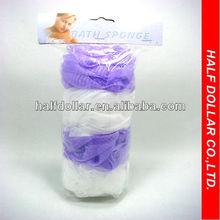 4pcs bath sponges set/4pcs bath net sponge ball set/4pcs mesh bath sponge set