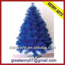 customized fashion blue christmas tree brooches ,pine needles artificial christmas tree
