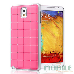 Pure PC phone case cover for samsung galaxy NOTE3 with twinkling rhinestone