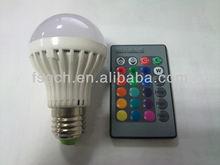 3W color conversion Colorful Led Bulb