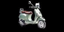 Motorcycle (Ves-pa LXV-3V-ie)