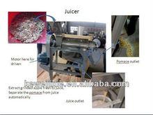 industrial fruit juice extractor machine