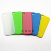 the lowest price hot sales single color silicone phone case for iphone/samsung/others