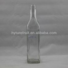 500ml square olive oil glass bottle or empty glass bottles for oil