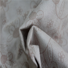 100% polyester super soft printed suede fabric for curtain sofa