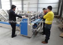 Automatic Corrugated Carton Folding Machine / Corrugated Box Folder Gluer