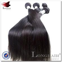 Virgin unprocessed brazilian human hair