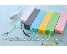 2600mAh perfume lipstick mobile charge power bank battery charger for iphone 4 4s 5