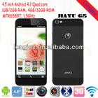"Original Jiayu G5 mobile phone MTK6589T Quad core Smartphone 1GB+4GB/2GB+32GB 4.5"" IP"