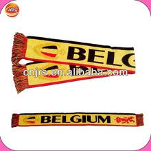 2014 Belgium soccer muffler scarf