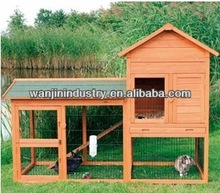 Wooden Rabbit Hutch Pet House with Run