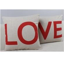Case Couple Pillow Case, Set of 2 - Love Couple Throw Pillow Cover Cushion