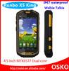MTK6577 dual core 8MP camera mobile phone Runbo x5 king waterproof ip67 walkie talkie rugged