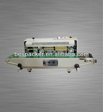 FR-900 semi-autmatic continuous sealing machine for film and plastic bags