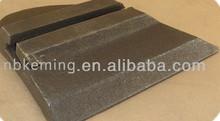 durable wear well spare parts for concrete batching plant mixer,sandvik spare parts
