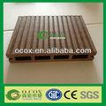 Ao ar livre WPC Wood Plastic Composite pisos laminados