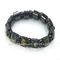 Religiosi della chiesa regalo di anniversario. Ematite braccialetto. Chiesa regalo, braccialetto rosario. Jbhbc1401-38