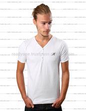 Hot sale deep v neck t shirts for men
